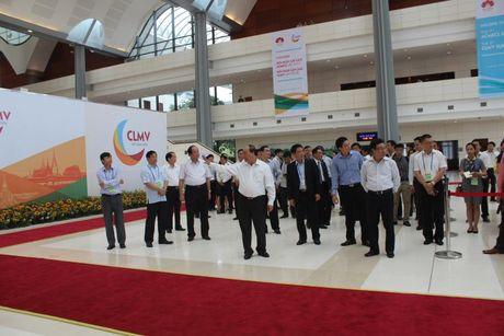 Hinh anh:Thu tuong thi sat cong tac to chuc CLMV8, ACMECS7, WEF-Mekong - Anh 2