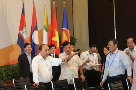 Hinh anh:Thu tuong thi sat cong tac to chuc CLMV8, ACMECS7, WEF-Mekong - Anh 4