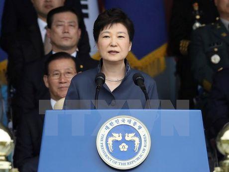 Tong thong Han Quoc Park Geun-Hye de nghi sua doi hien phap - Anh 1