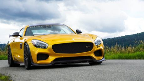 Ngam phien ban Dime Racing Mercedes-AMG GT 'manh me nhat' - Anh 1
