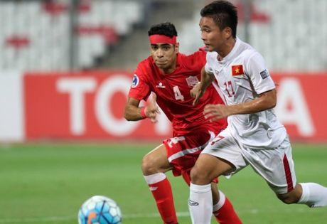 Chum anh U19 Viet Nam viet lich su truoc U19 Bahrain - Anh 2