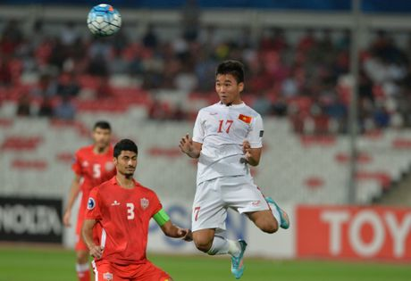 Chum anh U19 Viet Nam viet lich su truoc U19 Bahrain - Anh 3