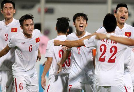 Chum anh U19 Viet Nam viet lich su truoc U19 Bahrain - Anh 4