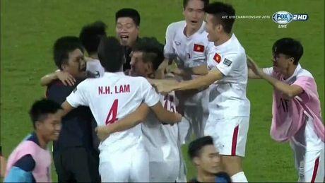 Chum anh U19 Viet Nam viet lich su truoc U19 Bahrain - Anh 6