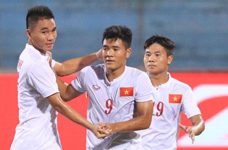 NHM bong da 'nga mu than phuc' chien tich cua U19 Viet Nam - Anh 1