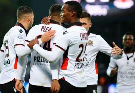 Vong 10 Ligue 1: PSG say chan, Nice vung chac ngoi dau - Anh 1