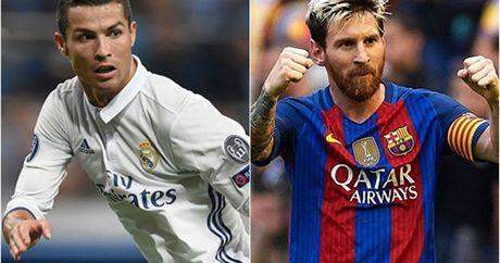 Vong 9 La Liga: Messi goi, Ronaldo chang tra loi - Anh 1