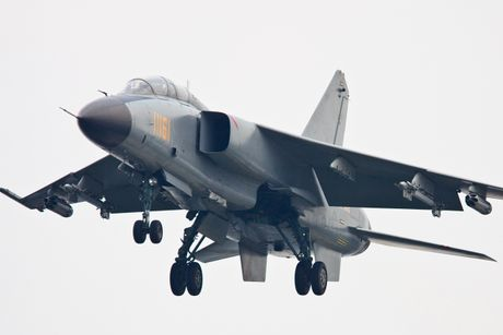 Hien truong may bay chien dau JH-7A Trung Quoc dam xuong dat - Anh 10