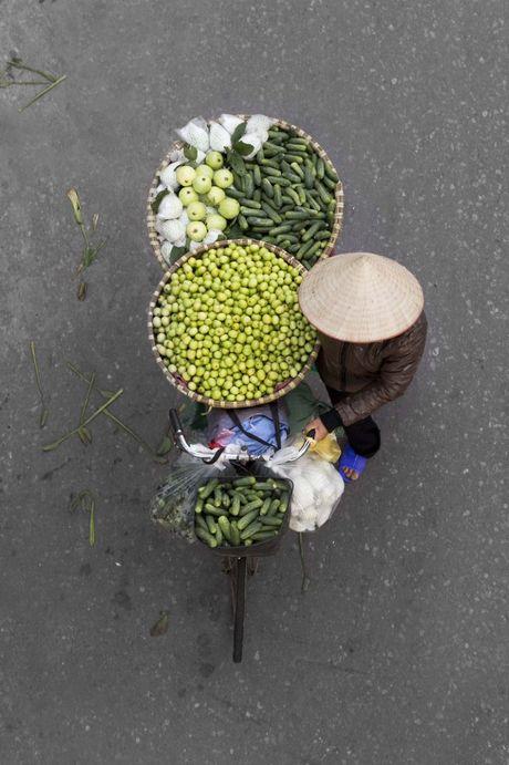 Bao ngoai an tuong voi nhung xe ban hang rong o Ha Noi - Anh 12