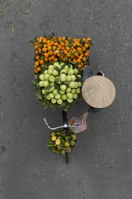 Bao ngoai an tuong voi nhung xe ban hang rong o Ha Noi - Anh 8