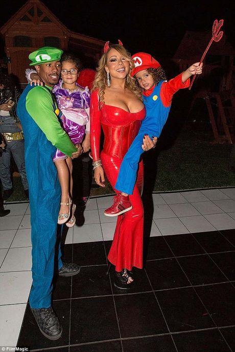 Mariah Carey mac sexy du tiec Halloween som - Anh 1