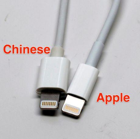 Cach phan biet phu kien iPhone chinh hang - Anh 1