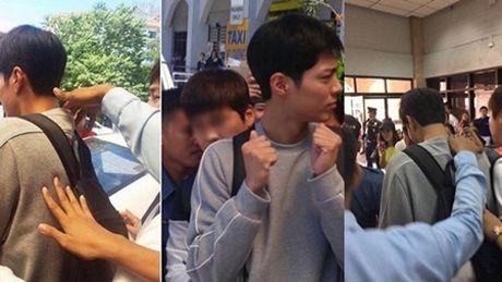 """Dan sao """"May hoa"""" khoe anh vi vu, Park Bo Gum kho chiu vi bi fan """"dung cham"""" - Anh 5"""