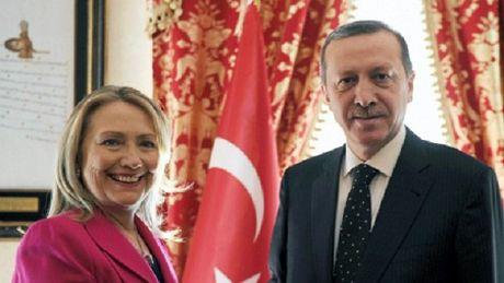 """Tho Nhi Ky """"doa"""" roi NATO neu ba Hillary Clinton tro thanh Tong thong My - Anh 1"""