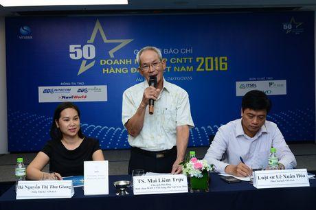 """Cong bo danh sach """"50 Doanh nghiep CNTT hang dau Viet Nam 2016"""" - Anh 1"""