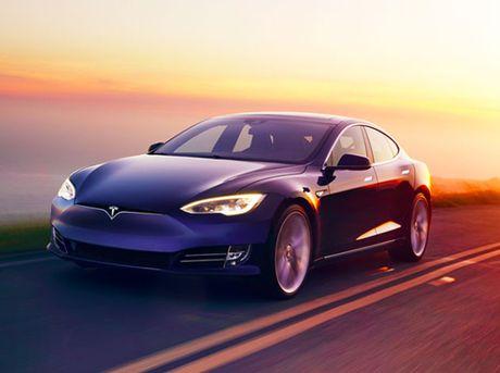 Tesla tham vong ra mat xe tu lai hoan toan - Anh 1