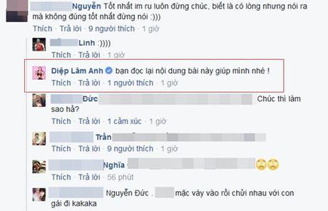 Diep Lam Anh giai thich su co chuc mung U19 Viet Nam nham giai dau - Anh 3