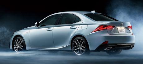 Lexus IS facelift nang cap tai Nhat - Anh 2
