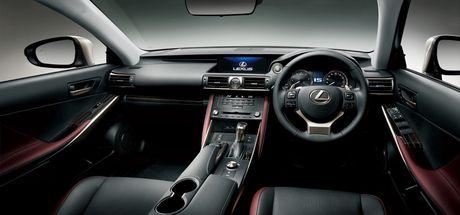 Lexus IS facelift nang cap tai Nhat - Anh 3