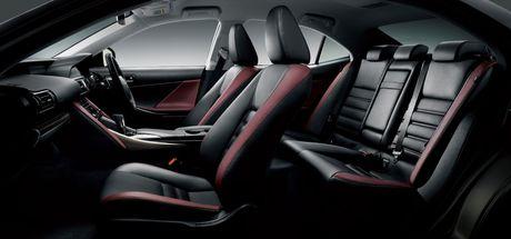 Lexus IS facelift nang cap tai Nhat - Anh 4