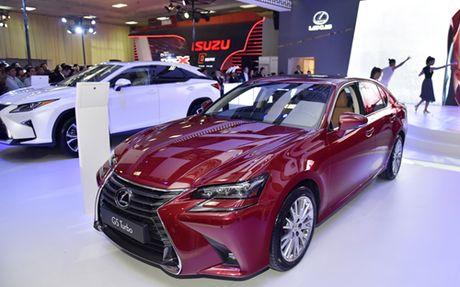 GS Turbo 2016, loi re moi cua Lexus tai Viet Nam - Anh 3