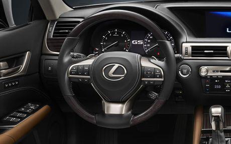 GS Turbo 2016, loi re moi cua Lexus tai Viet Nam - Anh 5