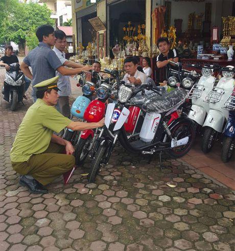Bao dong tinh trang buon ban xe dien nhai tran lan - Anh 3
