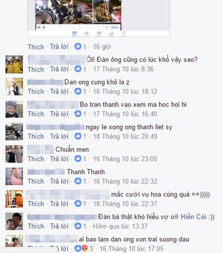 "Cu dan mang thich thu voi video ""Tam su dau kho cua cac ong chong ngay 20/10"" - Anh 1"