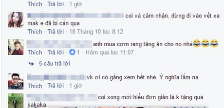 "Cu dan mang thich thu voi video ""Tam su dau kho cua cac ong chong ngay 20/10"" - Anh 2"