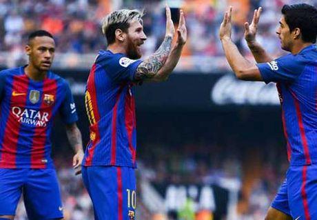 Tieu diem vong 9 Liga: Dinh cao Messi, vuc sau Ronaldo - Anh 1