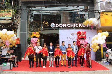 Nha hang DonChicken danh dau su xuat hien dau tien tai Ha Noi - Anh 3