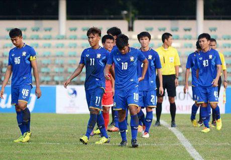 U19 Thai Lan la doi te nhat VCK U19 chau A 2016 - Anh 1