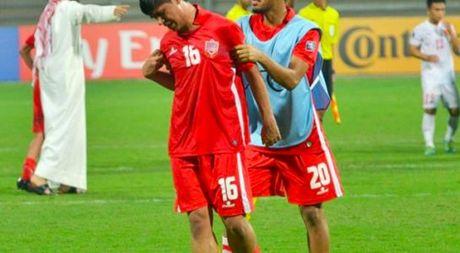 Cau thu U.19 Bahrain khoc nuc no, HLV xin loi vi de thua U.19 Viet Nam - Anh 1