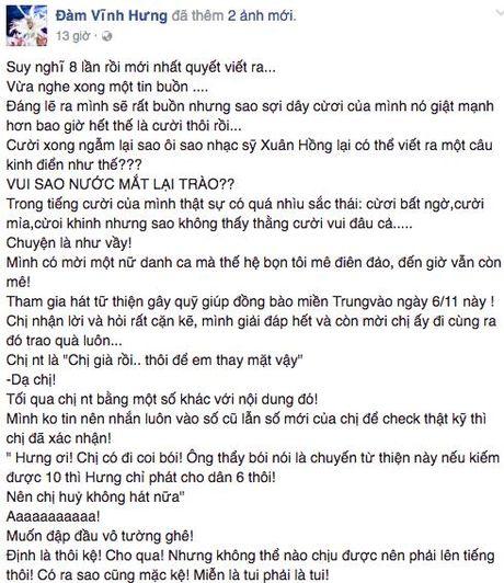 Bi to an chan tien tu thien, Dam Vinh Hung van mang gan 740 trieu dong den mien Trung - Anh 4
