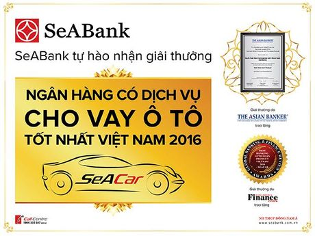 SeABank tham gia trien lam o to quoc te Viet Nam 2016 - Anh 1