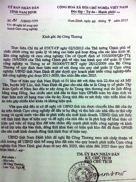 Du an 400 ty cua Tap doan Nam Sao: Vi sao tinh Nam Dinh van chua thu hoi? - Anh 5