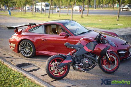 Porsche 911 Carrera S do TechArt hang doc cua biker 8X Sai Gon - Anh 10