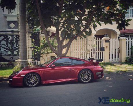 Porsche 911 Carrera S do TechArt hang doc cua biker 8X Sai Gon - Anh 12