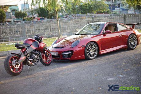 Porsche 911 Carrera S do TechArt hang doc cua biker 8X Sai Gon - Anh 3
