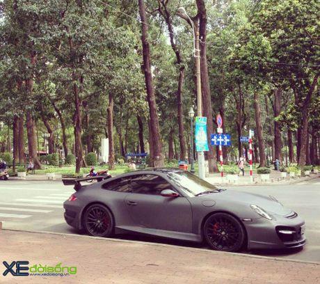Porsche 911 Carrera S do TechArt hang doc cua biker 8X Sai Gon - Anh 4