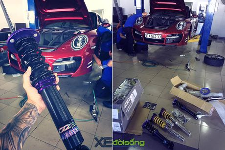 Porsche 911 Carrera S do TechArt hang doc cua biker 8X Sai Gon - Anh 8