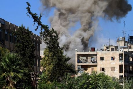 Syria: Lenh ngung ban ket thuc, Aleppo lai trong chao lua - Anh 1