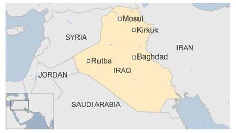 IS tan cong phia Tay Iraq, cuoc chien o Mosul van tiep dien - Anh 2