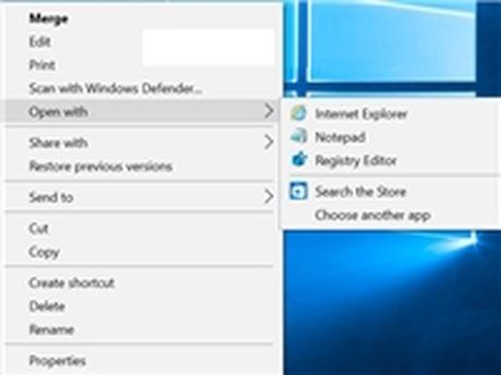 Bo bot chuong trinh thuoc trinh don 'Open With' trong Windows - Anh 1