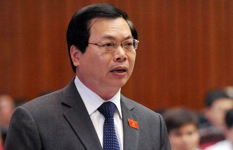 Nguyen bo truong Vu Huy Hoang bi de nghi ky luat canh cao - Anh 1