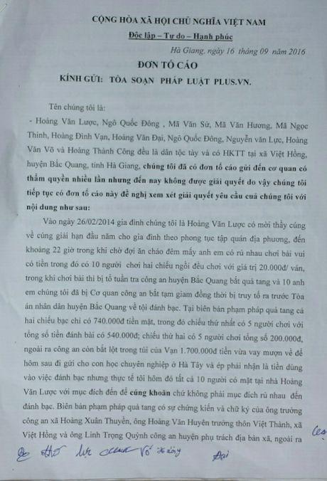 Chin nguoi dan keu oan tai Ha Giang: Can lam ro uan khuc trong vu an 'danh bac' tai xa mien nui Viet Hong? - Anh 1