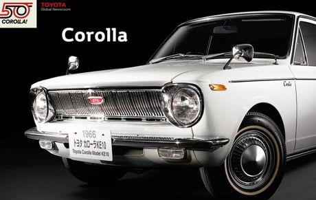 Nhin ngam Toyota Corolla truong thanh qua 11 the he - Anh 1