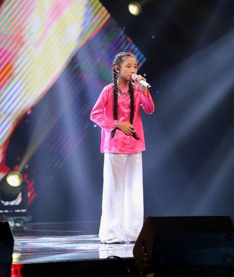 Nhung man lot xac thoi trang an tuong nhat cua cac co be The Voice Kids 2016 - Anh 9