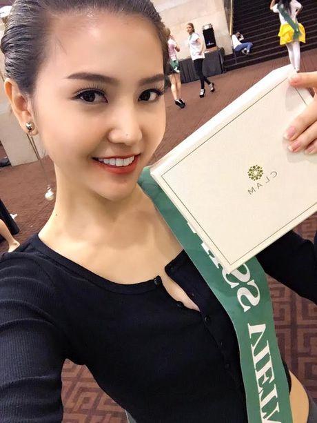 Ngoc Duyen dang quang 'Nu hoang sac dep toan cau' 2016 - Anh 13