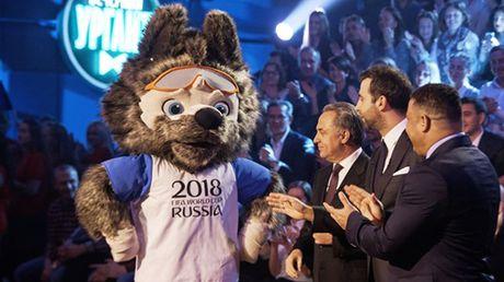 Soi Zabivaka - linh vat cua World Cup 2018 - Anh 1